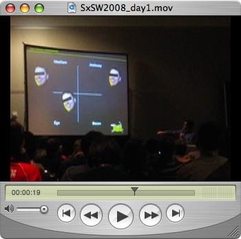SxSW2008 Day 1