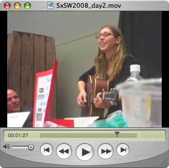 SxSW 2008 Day 2 - Joey Hardy